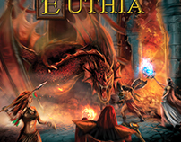 Front box cover illustration: Legends of Euthia