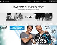 Construção site MarcosSlaviero.com