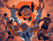 'Cuse Awards backdrop art
