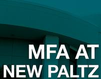 MFA New Paltz Poster