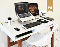 Plux™ | Co-working Desk Design