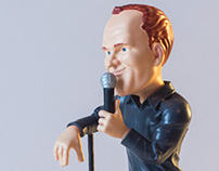 Bill Burr Collectible Art Toy