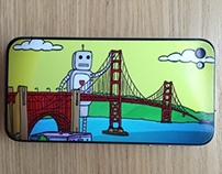 iPhone Skin - San Francisco Golden Gate Bridge