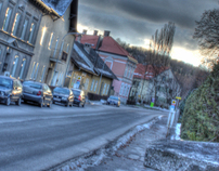 on the street (hdr)