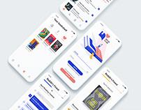 UI/UX - Bookclub App