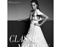 Chloe magazine bridal editorial