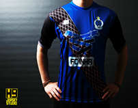 FOOTBALL JERSEY KIT DESIGN. 2013 FC INHA HOME KIT