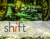 SHIFT/ control + retreat