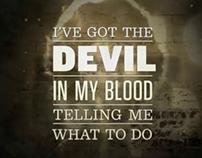 Typographic Music Video