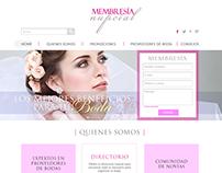 Diseño Web y Redes sociales / Membresía Nupcial