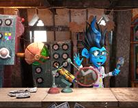 Studio Liddell:  CGI Character Animation for Jucee