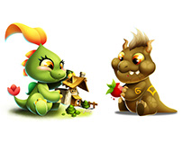 Dragon City - Assets for marketing