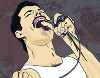 ::God Save the Queen:: Freddie Mercury