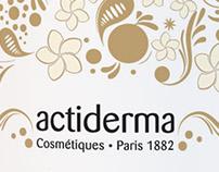 Shooting 3D produits Actiderma