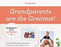 Grandparent's Day Emails for Keepsake