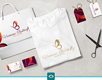 Identidade Visual da empresa Vanessa Butterfly