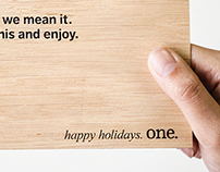 Agency promo - Holiday card 2012
