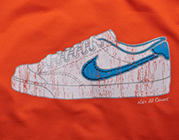 Nike China 30yrs Tee graphic