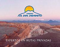Turismo Sol del Desierto - Diseño Web