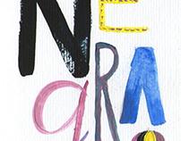 NEGRA / regalo para Daiu