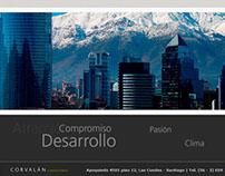 Corvalán Consultores - Diseño Web