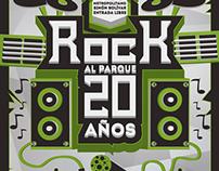 Propuesta: Rock al Parque 20 años