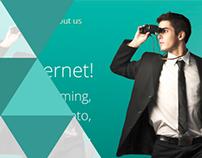 Unique Concept for Company Website