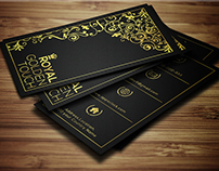 Royal Golden Touch Business Card