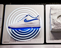 30 objects of AF1 story in retail display