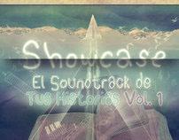 """Poster """"Showcase El Soundtrack de Tus Historias Vol.1"""""""