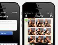 Forever app - social photo sharing and storage