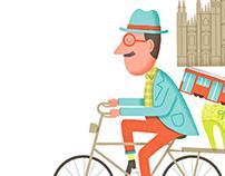 Biking in Milan