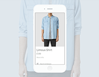 Allsaints in - store Clothing App