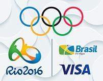 Projeto Cards Olímpicos VISA RIO 2016