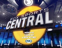 Fox Sports Central Toyota Integrated Promo