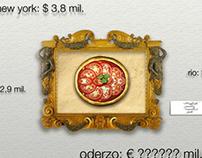 Pizzeria advertising