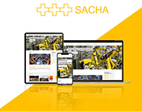 Sacha Engineering, India / Germany Website Design