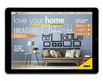 Online interactive magazine design