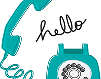Hello Telephone, illustration