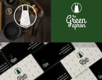 The Green Apron - logo a vizitky