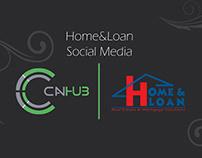 Home & Loan | Social Media
