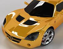 Opel Speedster - 3dsMax, Vray