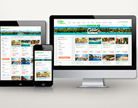 Web Redesign - Tourist packages landing
