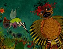 Ilustración. Serie cuentos a boli. Bepati