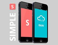 Simple - App Concept
