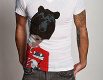 Grenadier bear - T shirt design