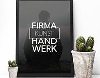 - FIRMA KUNSTHANDWERK -