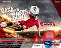 Gana con tu Selección Sony