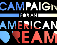 CAMPAIGN for an AMERICAN DREAM