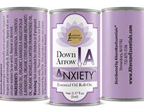 Hospice essential oil label